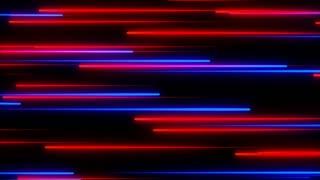 Metro Light Streaks Seamless Loop 4K Ultra HD Horizontal Red Blue Purple