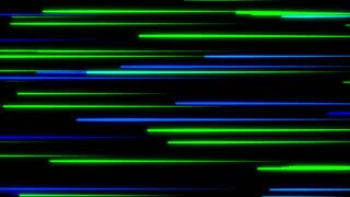 Metro Light Streaks Seamless Loop 4K Ultra HD Horizontal II Blue Green