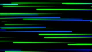 Metro Light Streaks Seamless Loop 4K Ultra HD Horizontal Blue Green