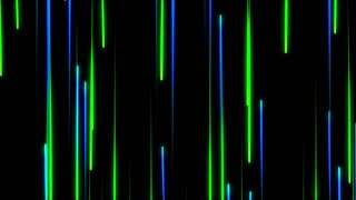 Metro Light Streaks Seamless Loop 4K Ultra HD Vertical  Blue Green