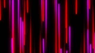 Metro Light Streaks Seamless Loop 4K Ultra HD Vertical  Pink Red Magenta