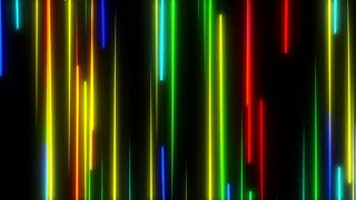 Metro Light Streaks Seamless Loop 4K Ultra HD Vertical Multicolor