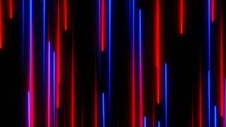 Metro Light Streaks Seamless Loop 4K Ultra HD Vertical Red Blue