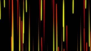 Metro Light Streaks Seamless Loop 4K Ultra HD Vertical Red Yellow Orange