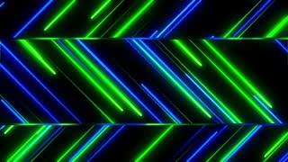 Metro Stylish Light Streaks Seamless Loop 4K Ultra HD Blue Green