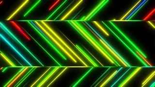 Metro Stylish Light Streaks Seamless Loop 4K Ultra HD Multicolor