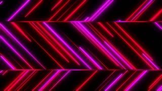 Metro Stylish Light Streaks Seamless Loop 4K Ultra HD Pink Red Magenta