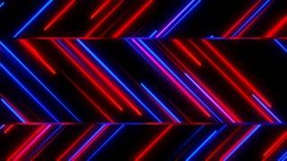 Metro Stylish Light Streaks Seamless Loop 4K Ultra HD Red Blue Purple
