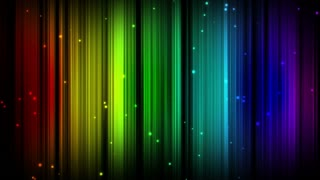 Rainbow Lines Pattern Particles Multicolor Motion Background Ultra HD 4K