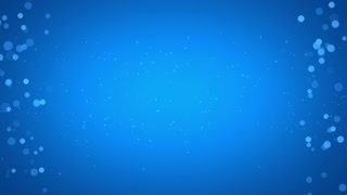 Side Particles Background Seamless Loop Blue Cyan 4K and Full HD