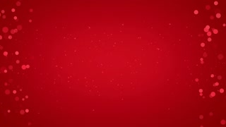 Side Particles Background Seamless Loop  Red 4K and Full HD Red Maroon