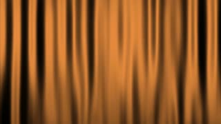 Silk Velvet Curtain Seamless Looping Motion Background Beige Brown Orange