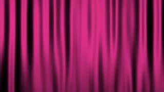 Silk Velvet Curtain Seamless Looping Motion Background Pink Magenta