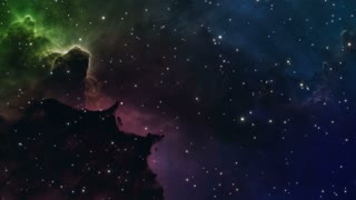 Traveling Through Space Motion Background Seamless Loop