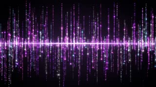 Sparkling Glitters Orbs and Streaks of Light Flares Particles | Seamless Looping | Motion Background Full HD | Purple Violet Indigo Pink
