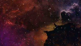 Traveling Through Space Alternate Version Motion Background Seamless Loop