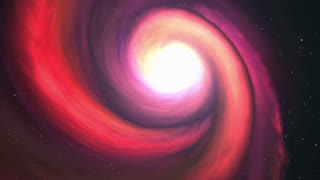 Camera Moving Around a Spiral Galaxy Version 3 | Seamless Loop | Motion Background | Full HD 1920x1080