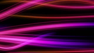 Colorful Elegant Curved Streaks of Light | Full HD 1920x1080 | Pink Purple Violet Red Magenta Maroon