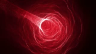 Flying in a Curved Tunnel of Light | Fly Through a Wormhole or Time Vortex | Portal or Gateway to After Life | Seamless Looping Motion Background | Full HD 1920 X 1080 | Red