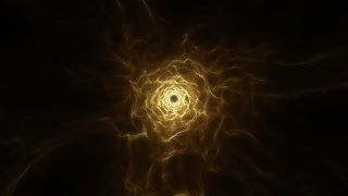 Flying in a Tunnel of Light | Fly Through a Wormhole or Time Vortex | Portal or Gateway to After Life | Seamless Looping Motion Background | Full HD 1920 X 1080 | Gold Golden Brown Yellow Orange