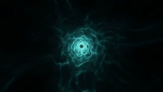 Flying in a Tunnel of Light | Fly Through a Wormhole or Time Vortex | Portal or Gateway to After Life | Seamless Looping Motion Background | Full HD 1920 X 1080 | Turquoise