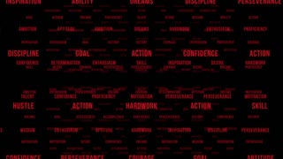 inspirational words red motion background videoblocks