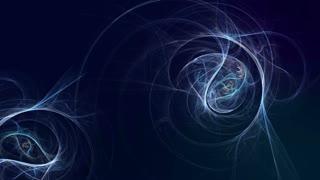 Fractal Flame Flower Floral Design Elegant Elegance Space Universe Fractals Seamless Looping Motion Background Animation Video Backdrop