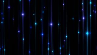 Lens Flares Rising Upwards DCI 4K 4096x2304 Blue Purple Cyan