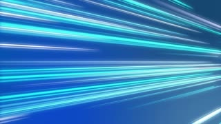 Tilted Colorful Light Beams and Streaks Seamless Motion Background Loop Full HD 1920x1080 Light Blue Cyan