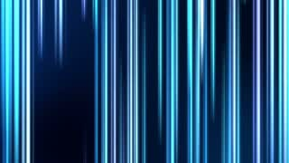 Vertical Colorful Light Beams and Streaks Seamless Motion Background Loop Full HD 1920x1080 Blue Cyan