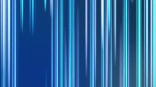 Vertical Colorful Light Beams and Streaks Seamless Motion Background Loop Full HD 1920x1080 Light Blue Cyan