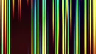 Vertical Colorful Light Beams and Streaks Seamless Motion Background Loop Full HD 1920x1080 Seven Colors of Light Spectrum and Rainbow