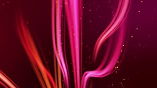 Rising Swirls of Colorful Lights Seamless Motion Background V2 Pink Magenta Red