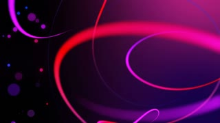Swirly Iines and Streaks of Light with floating particles Seamless Looping Motion Background 02 Violet Purple