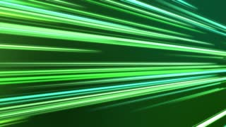 Tilted Colorful Light Beams and Streaks Seamless Motion Background Loop Full HD 1920x1080 Green Turquoise Teal