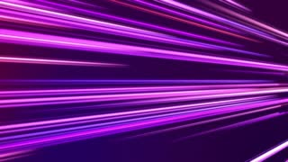 Tilted Colorful Light Beams and Streaks Seamless Motion Background Loop Full HD 1920x1080 Violet Purple Pink