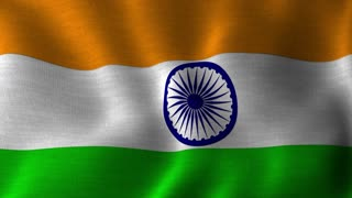 Tiranga | National Flag of India | Waving Indian Flag Tricolor | Seamless Looping Full HD