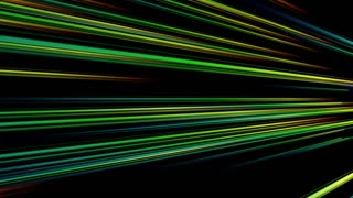 Vertical Colorful Light Beams and Streaks Seamless Motion Background Loop Full HD 1920x1080 Multicolored Alternate Version