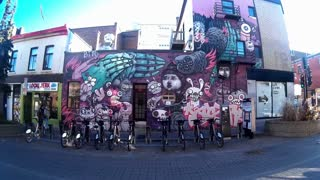 Gopro Montreal streets - Graffiti of Plateau Mont-Royal