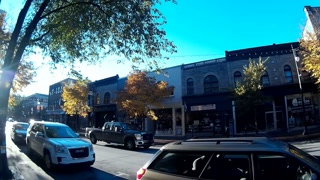 Gopro Montreal streets on a sunny morning - Plateau Mont-Royal