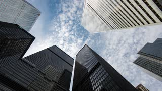 4K Timelapse Sequence of Toronto, Canada - The BMO Towers