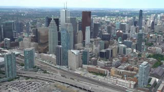 4K Video Sequence of Toronto, Canada - From the South