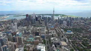 4K Video Sequence of Toronto, Canada - University Avenue