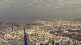 Aerial view of Paris, Paris, France 1080