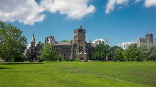 Hyperlapse / Timelapse video of University of Toronto