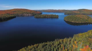 Lakes and Islands in Algonquin Provincial Park | Ontario, Canada. 4K drone footage shot in Ontario, Canada at fall.