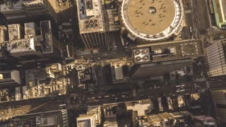 Madison Square Garden | New York City | 4K Aerial footage filmed above Madison Square Garden in New York City.