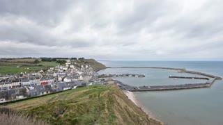 Port-en-Bessin, Normandy, France