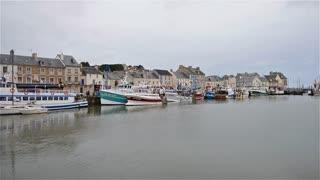 The Harbord of Port-en-Bessin, Normandy, France