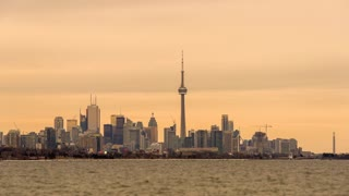 The Skyline of Toronto from the West (Humber Bay Park)
